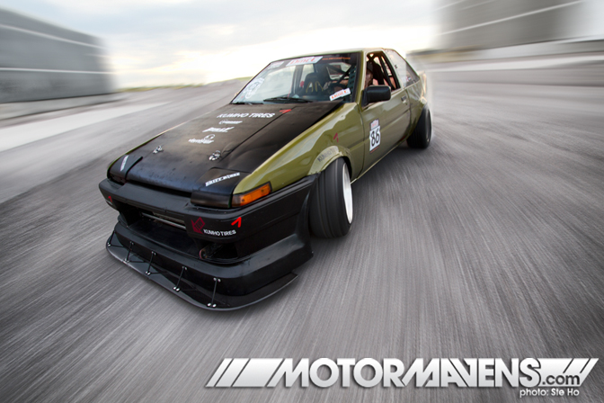 Pat's old and glorious AE86. Photo Credit: Motormavens