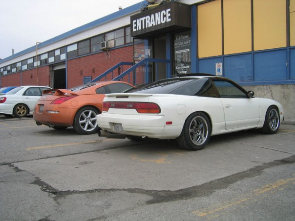 The old S13 outside of ProKart when it still existed in Etobicoke
