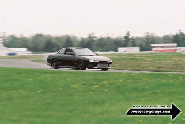 "The S14 I built after the white S13 was stolen - known to most as ""Sandra"""