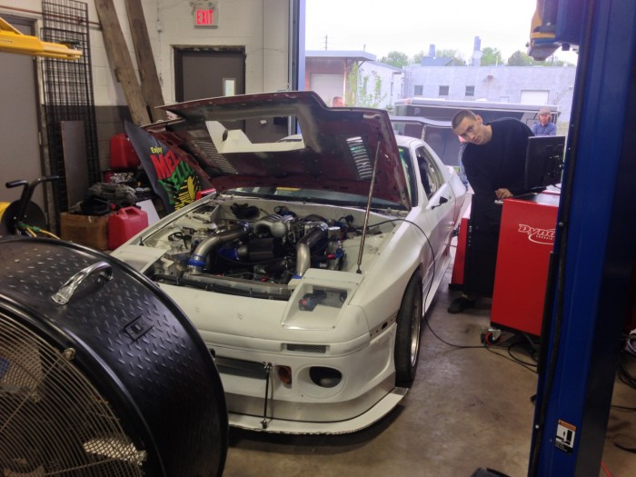 Tuning doritos is always fun. Andrew's car made great power at 12psi.