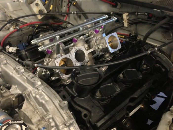 ITB test fit. Tight to the valve cover just like they should be.