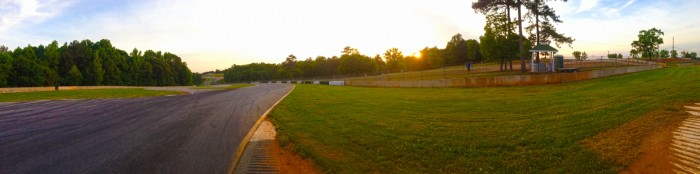 Beautiful Road Atlanta. I was getting pretty pumped to rip Kels at this place.