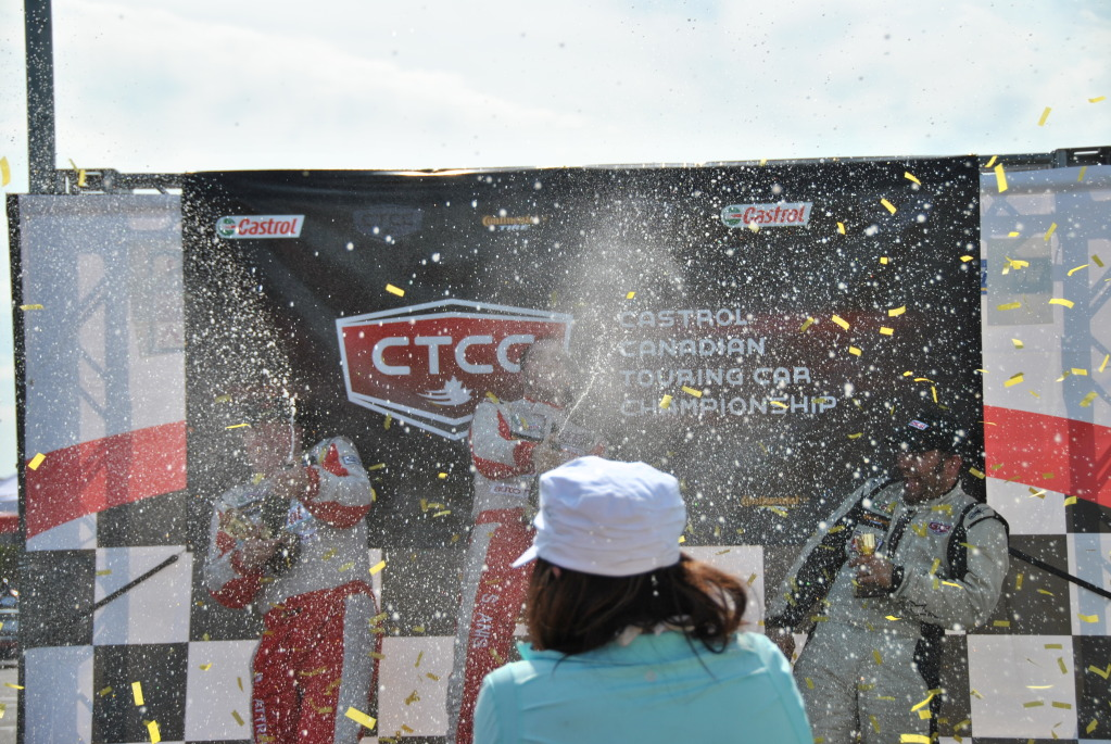 One Weekend. 2 Wins, 3 Podiums, a $1000 Fine and Lots of Cheap Champagne