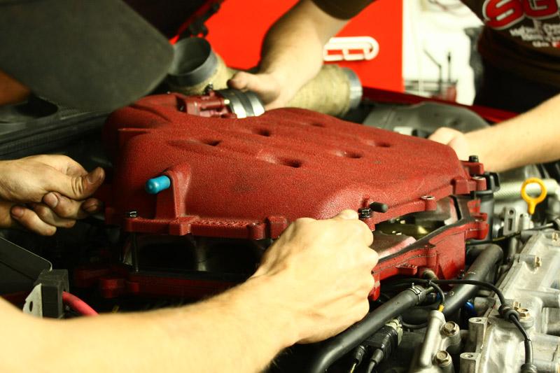 VQ35DE Intake Development