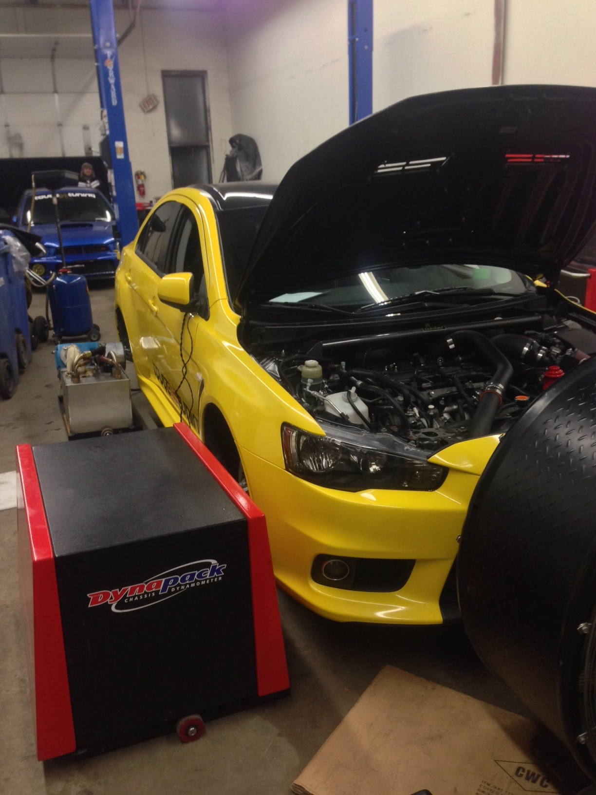 OnPoint's First AWD Car, Usman's 400whp EVO X